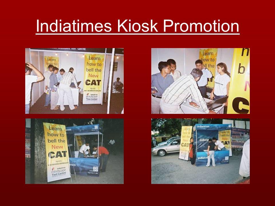Indiatimes Kiosk Promotion