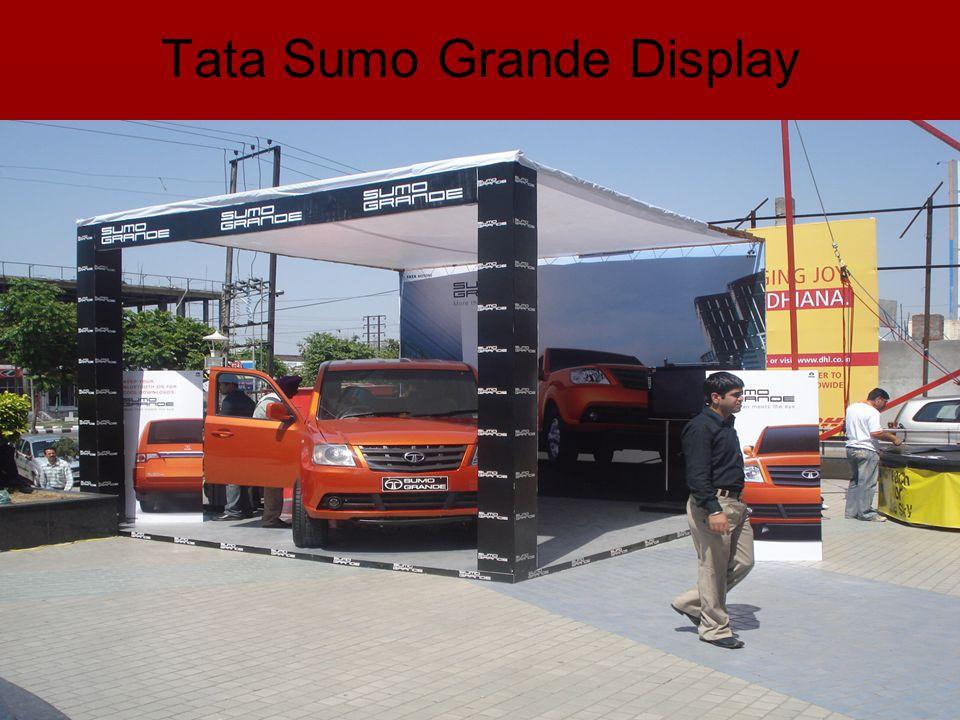 Tata Sumo Grande Display