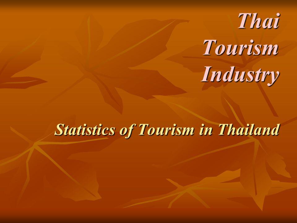 Thai Tourism Industry Statistics of Tourism in Thailand