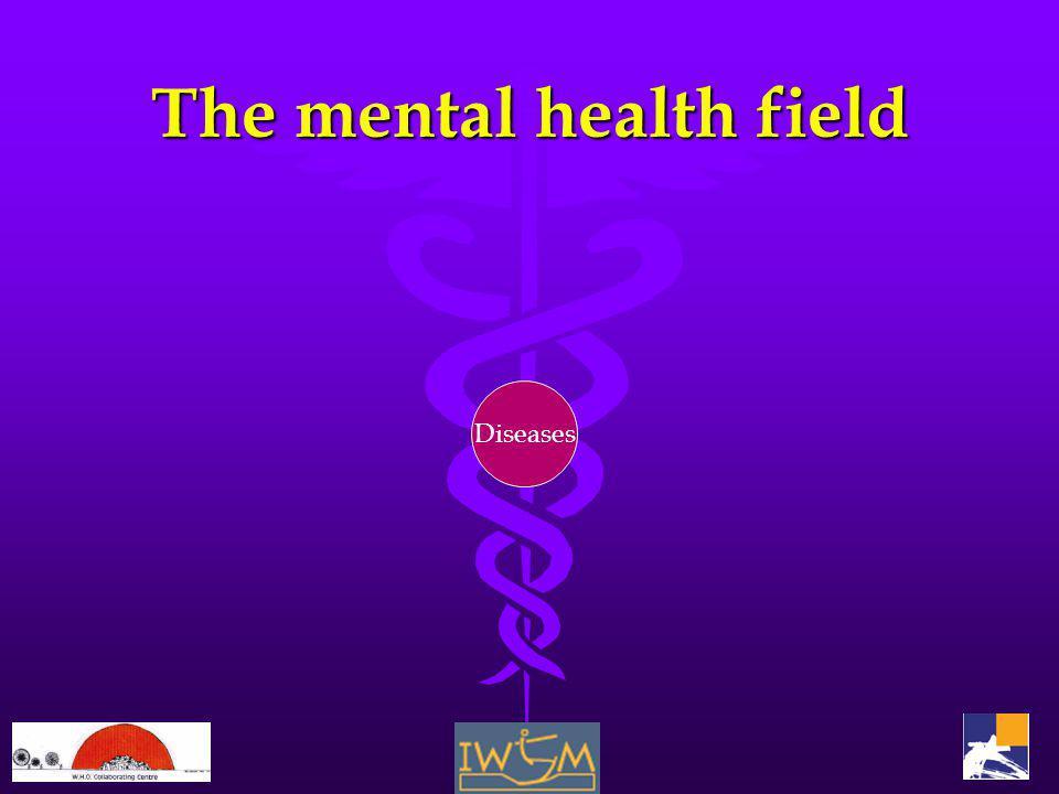 The mental health field Diseases