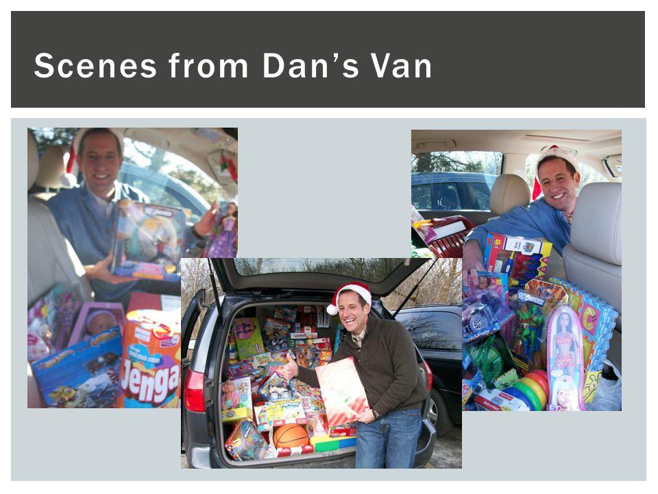 Scenes from Dans Van