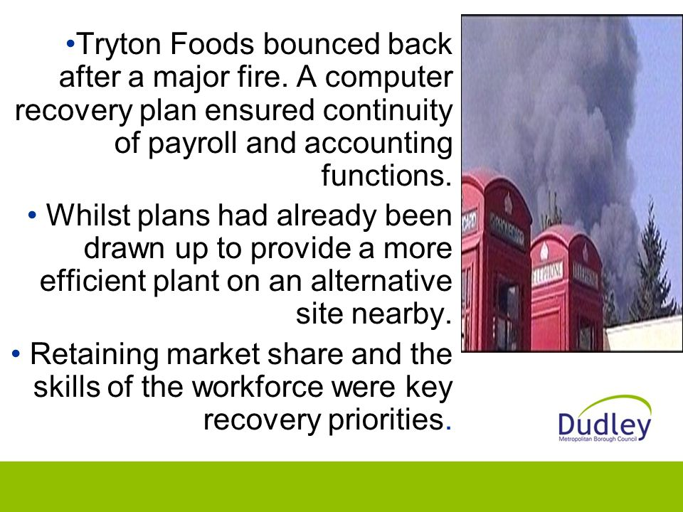 Tryton Foods bounced back after a major fire.