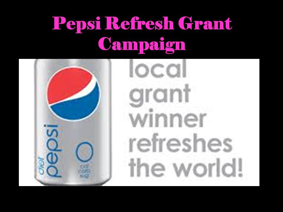 Pepsi Refresh Grant Campaign