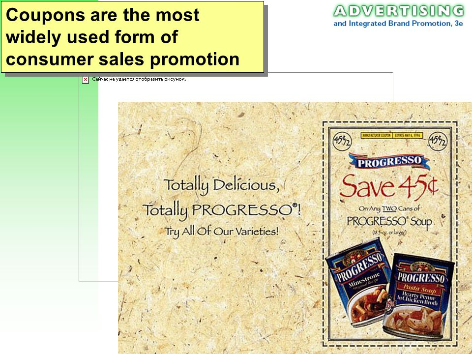 Ch 18: Sales Promotion 6 Consumer-Market Sales Promotion Techniques 1.