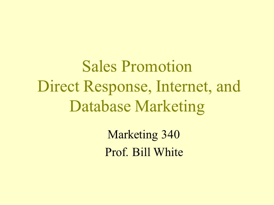 Sales Promotion Short-term, demand-stimulating activities designed to –supplement advertising, –facilitate personal selling, –support distribution channels efforts.