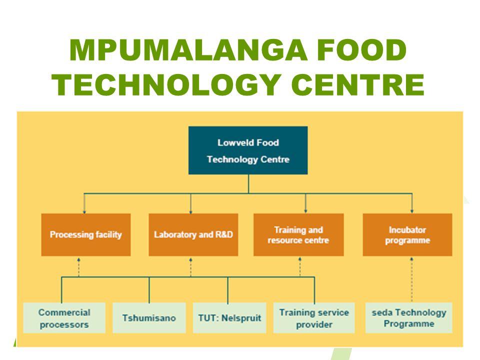 MPUMALANGA FOOD TECHNOLOGY CENTRE