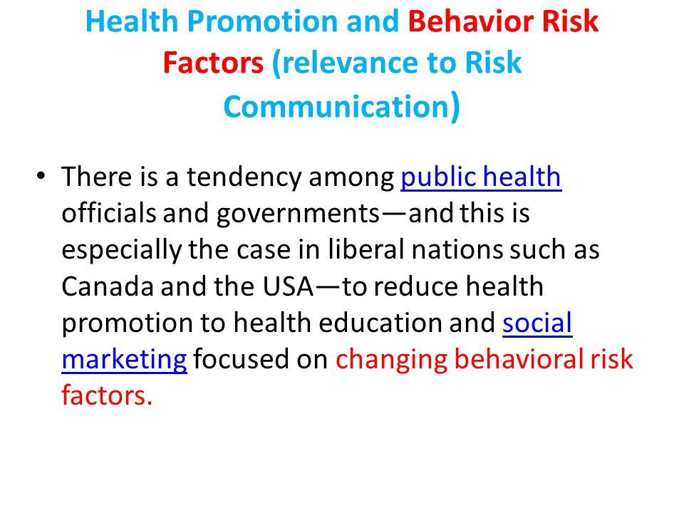 Health Communication Health communication can be defined as where health promotion and communication meet (Hershfield & Rootman, 1996).