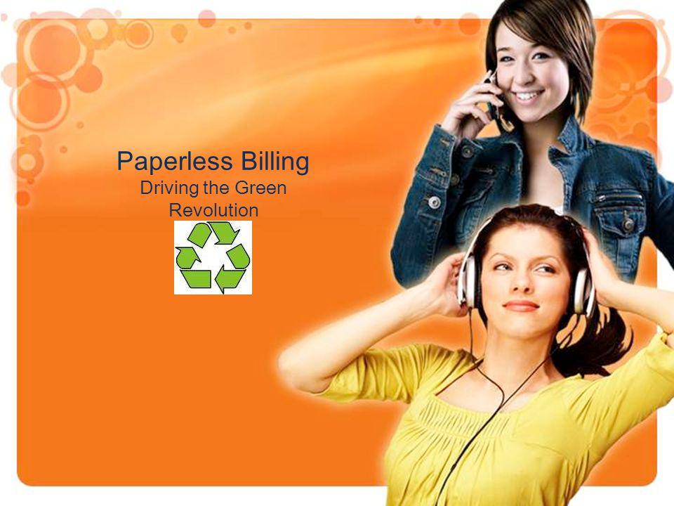 Paperless Billing Driving the Green Revolution