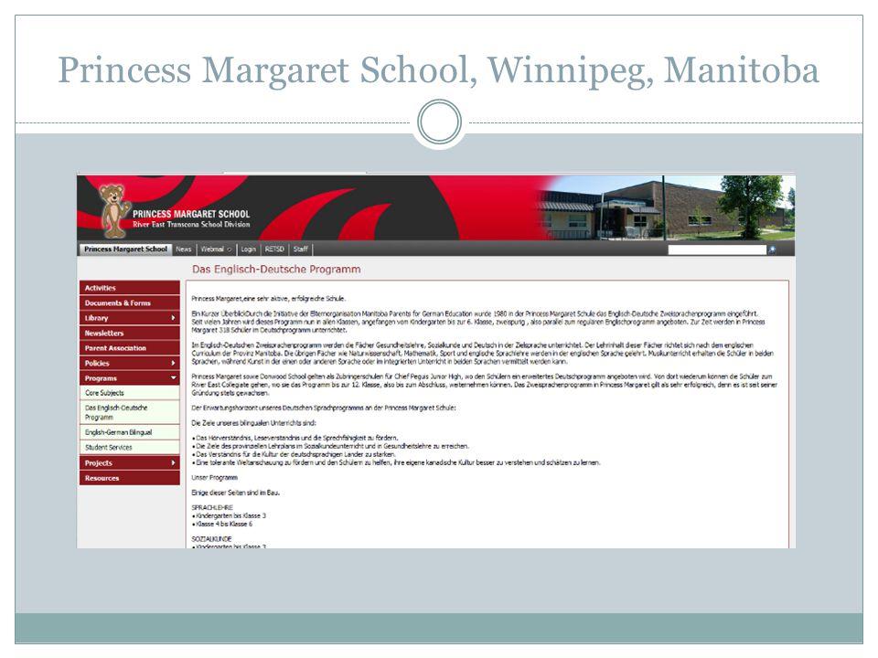 Princess Margaret School, Winnipeg, Manitoba