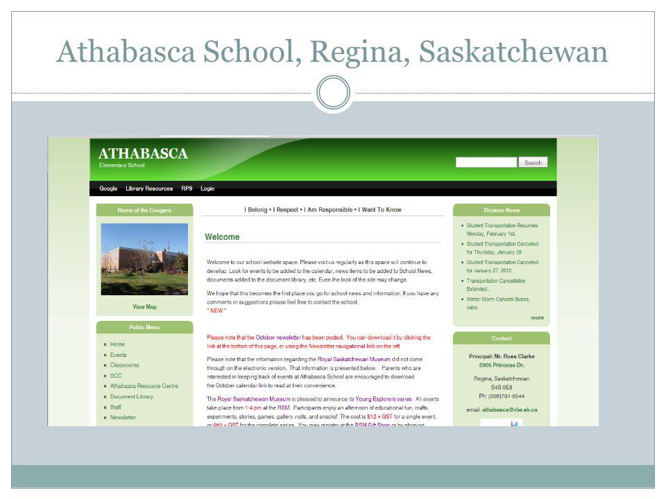 Athabasca School, Regina, Saskatchewan