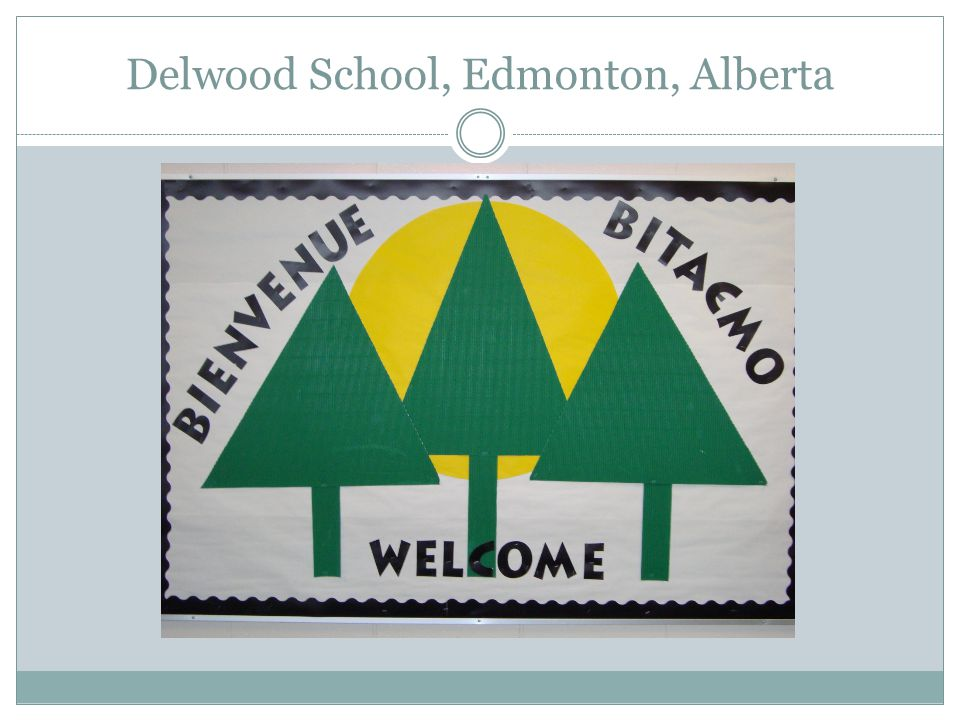 Delwood School, Edmonton, Alberta