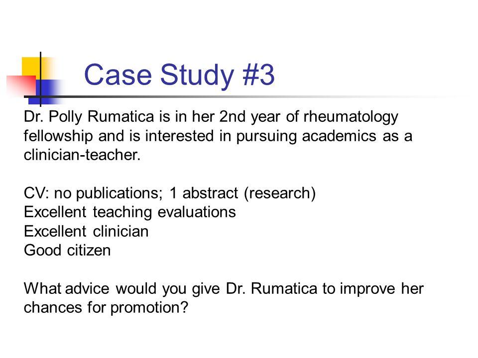 Case Study #3 Dr.
