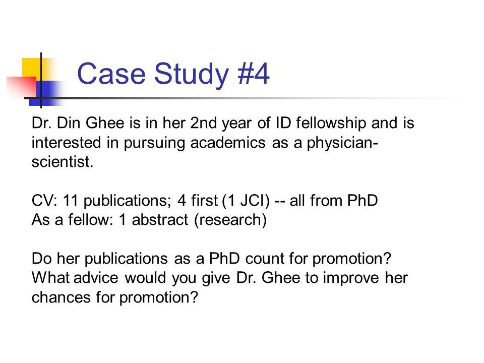 Case Study #4 Dr.