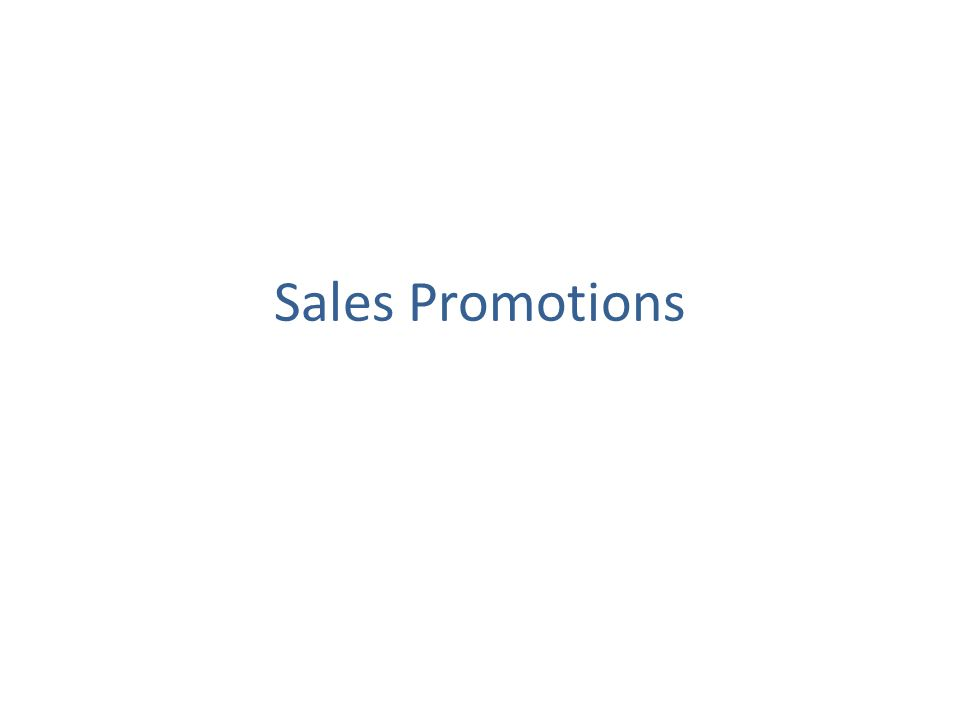 Key questions regarding Sales promotions Some of the key questions that are of paramount importance to sales promotions are: – Are they increasing sales to their maximum.