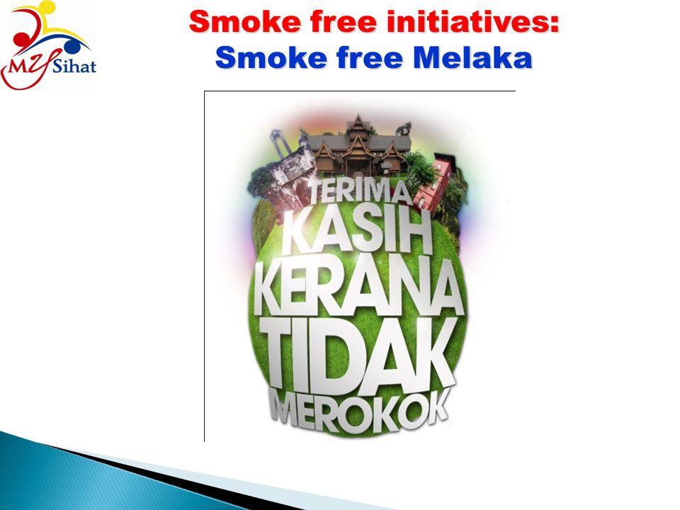 Smoke free initiatives: Smoke free Melaka