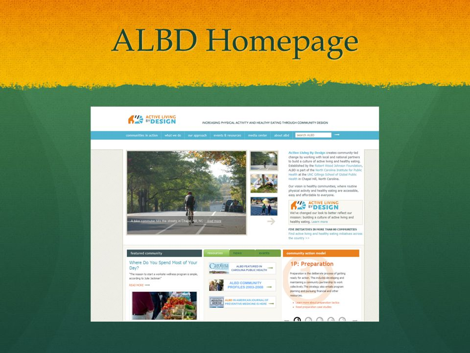 ALBD Homepage