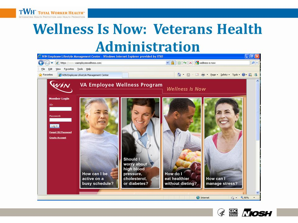 Wellness Is Now: Veterans Health Administration