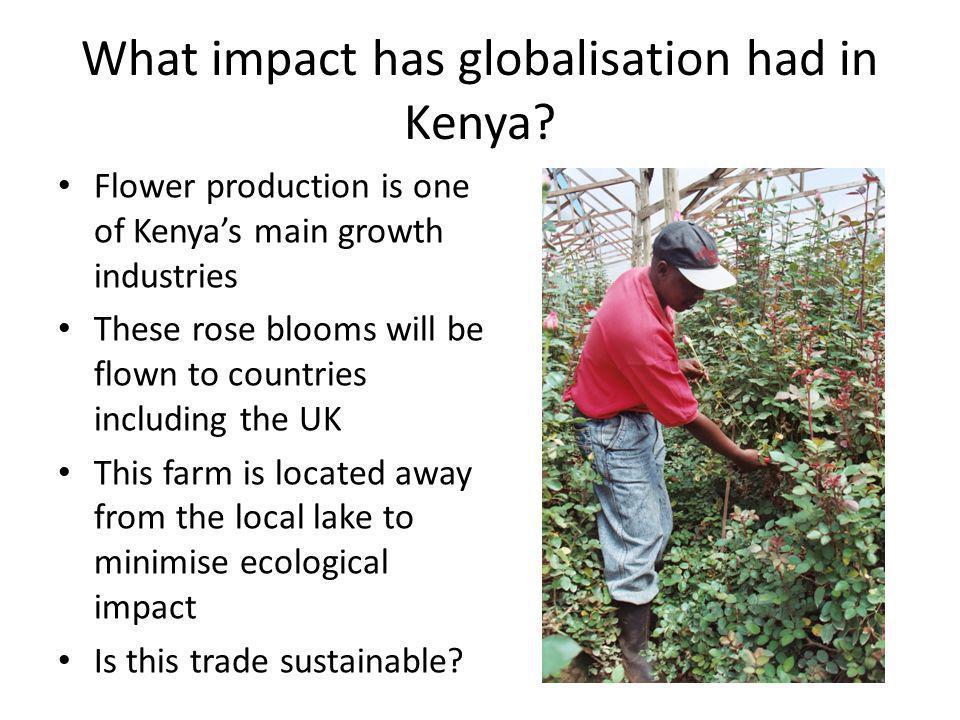 What impact has globalisation had in Kenya.