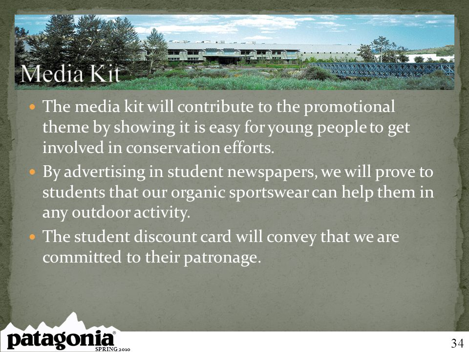 The media kit will contribute to the promotional theme by showing it is easy for young people to get involved in conservation efforts. By advertising