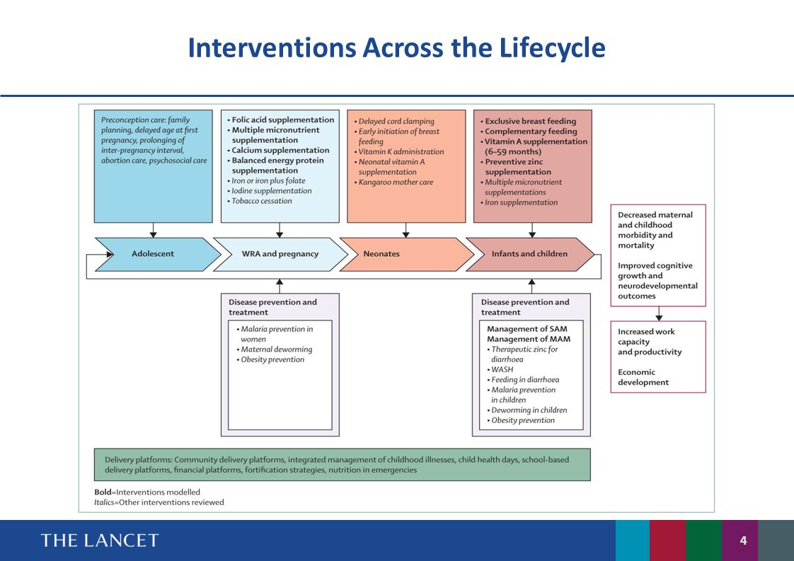 Interventions Across the Lifecycle 4
