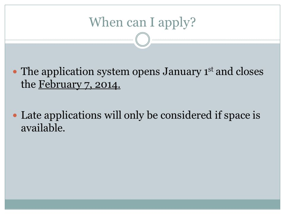 8- SUBMIT.Be sure your application is filled out completely before submitting.