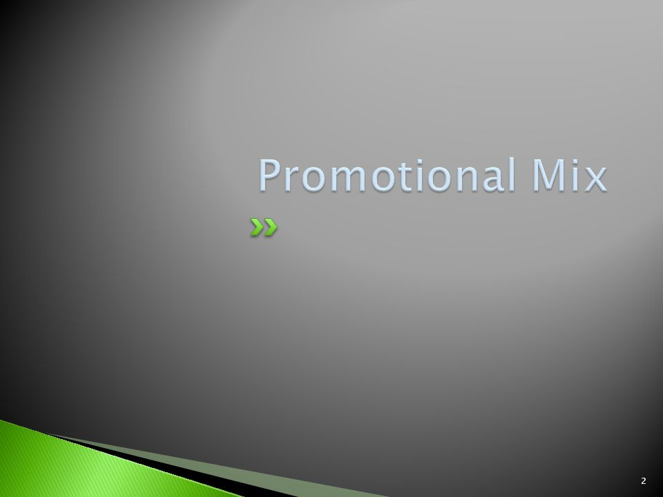 Promotion-one of the 4 Ps Product promotion – promotional method used by businesses to convince prospects to select their goods or services instead of the competitor Institutional promotion – promotional method used to create a favorable image for a business, help to advocate for change or take a stand on a community issue.