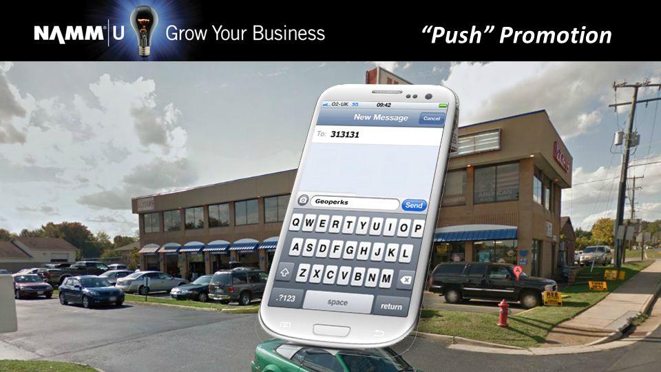 Push Promotion