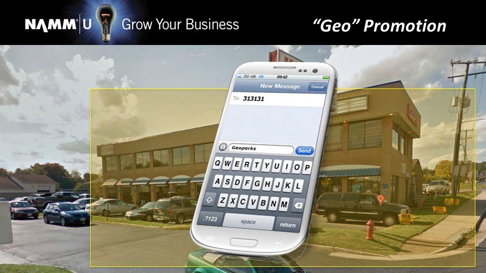 Geo Promotion