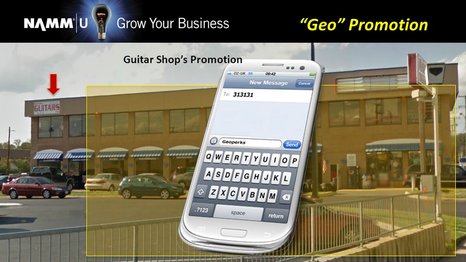 Guitar Shops Promotion Geo Promotion