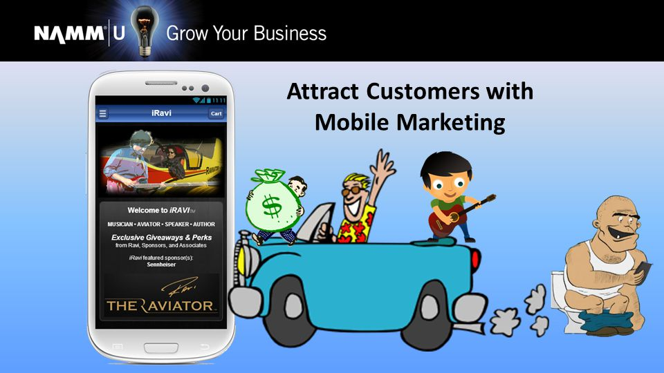Attract Customers with Mobile Marketing