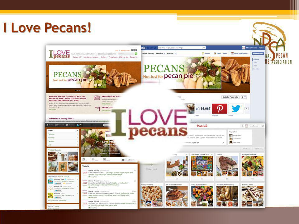 I Love Pecans!