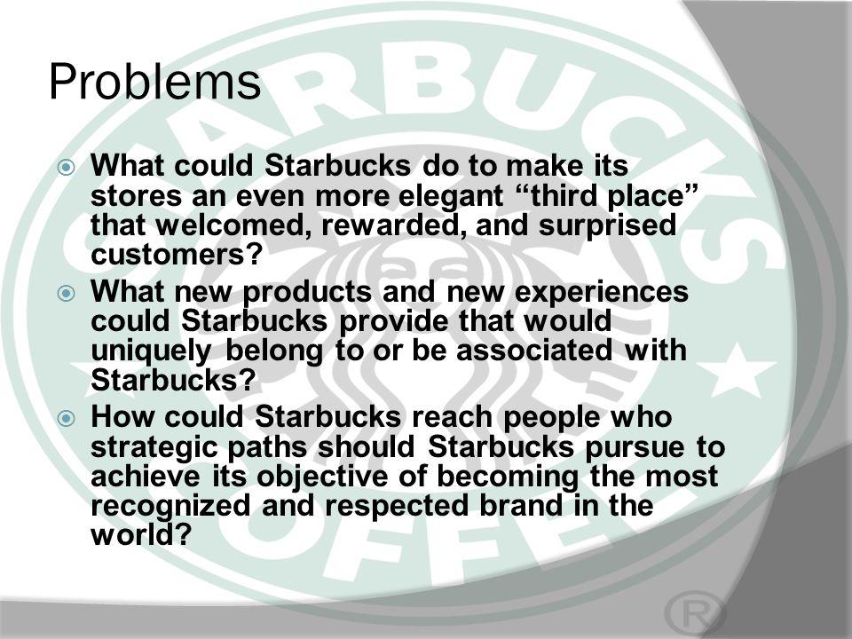 SWOT ANALYSIS Strengths Starbucks has a widespread global presence.