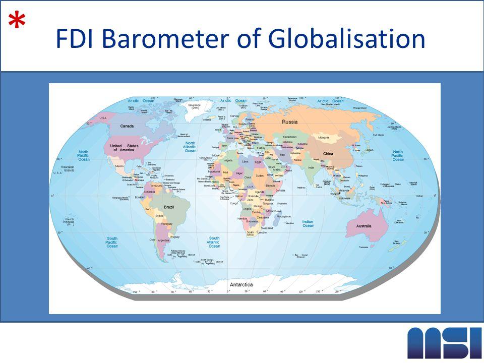 FDI Barometer of Globalisation *