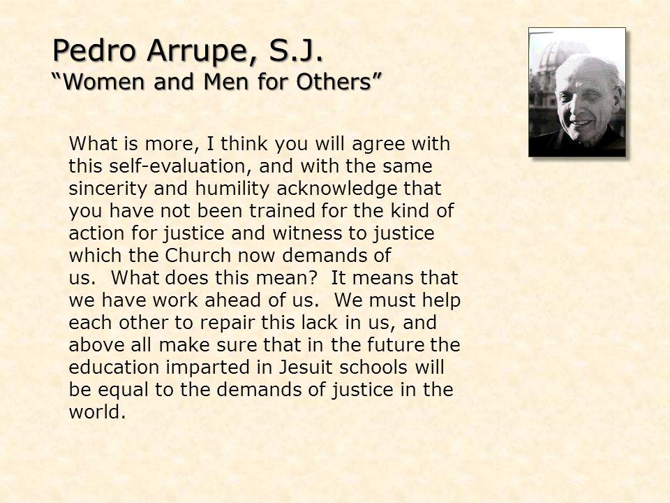 Pedro Arrupe, S.J.