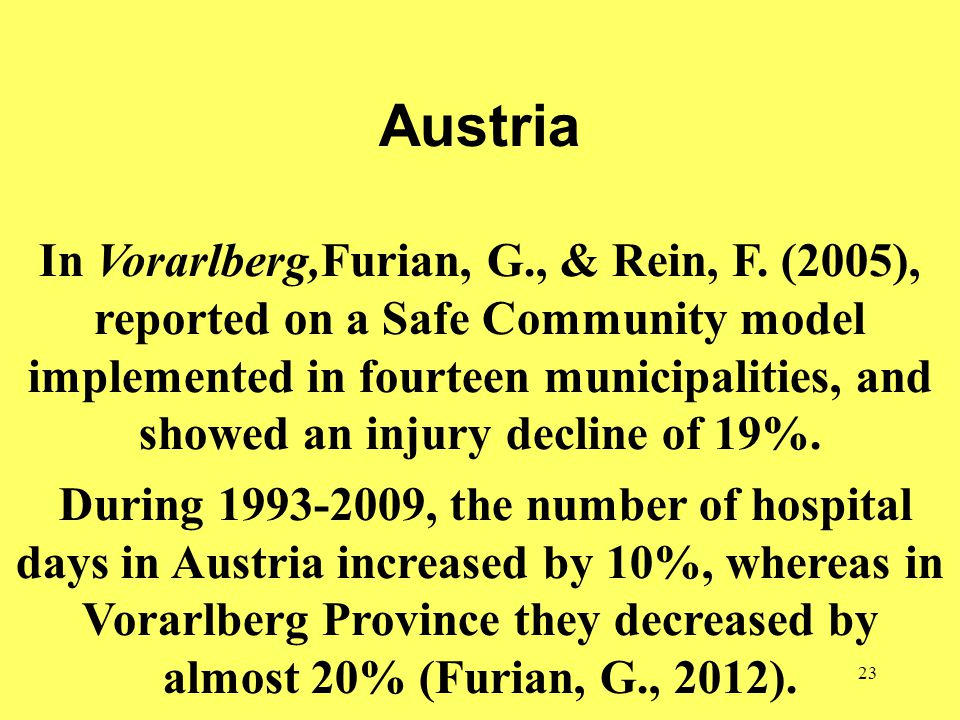 23 Austria In Vorarlberg,Furian, G., & Rein, F.