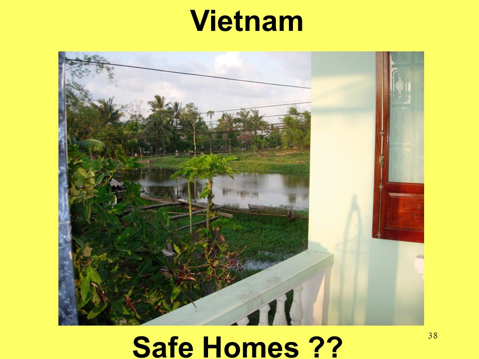 38 School of Public Health = Safe Communities Vietnam Safe Homes ??