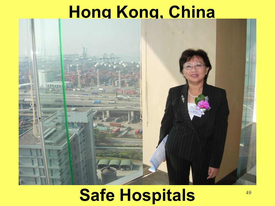 49 Hong Kong, China Safe Hospitals