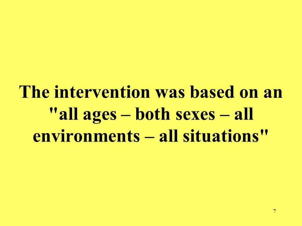 28 Do we need quasi-experimental design evaluations as a measure of success?