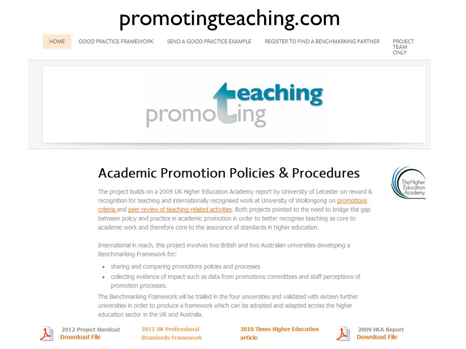 promotingteaching.com