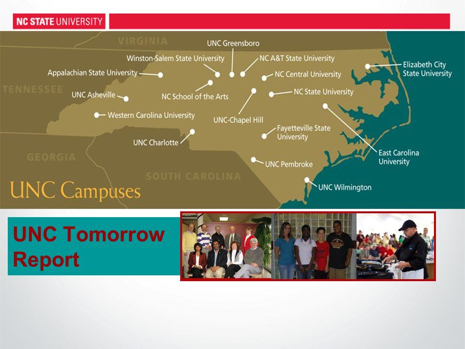 UNC Tomorrow Report