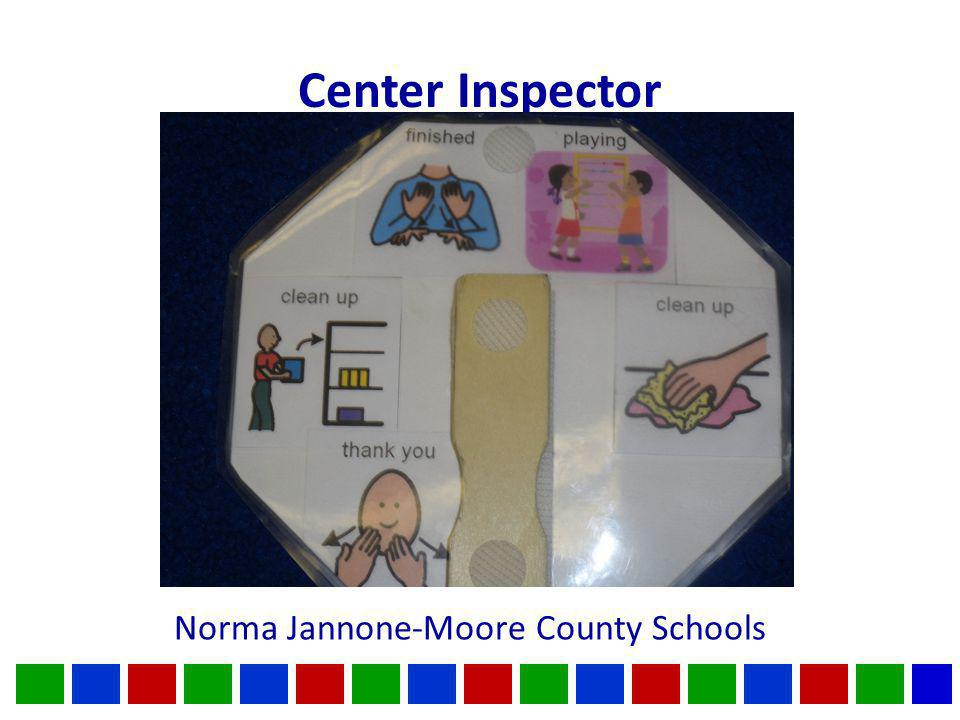 Center Inspector Norma Jannone-Moore County Schools