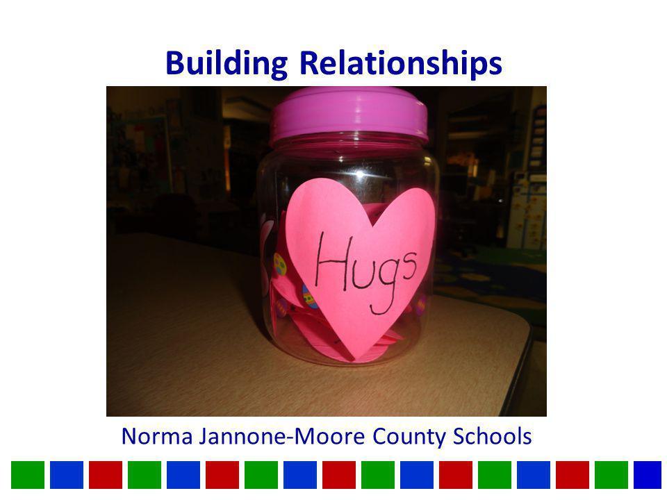 Building Relationships Norma Jannone-Moore County Schools