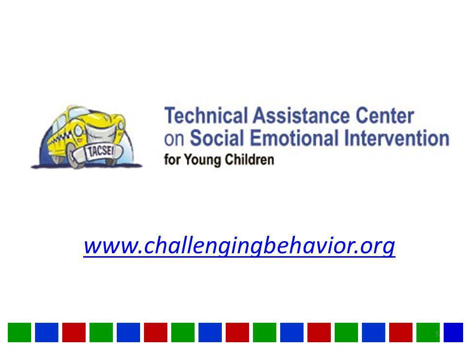 www.challengingbehavior.org 5
