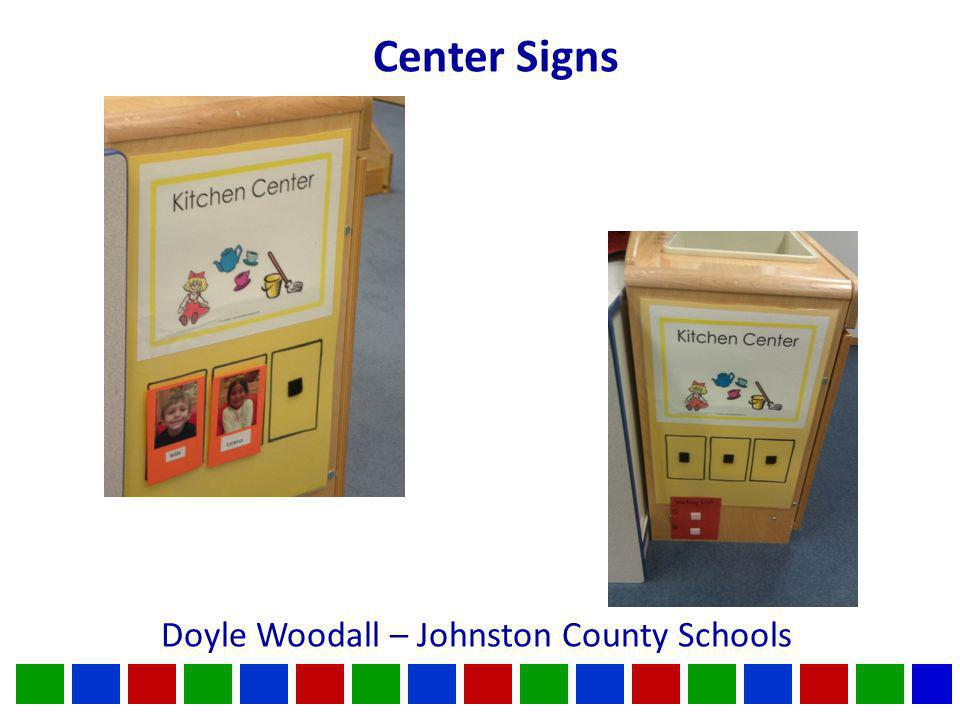 Center Signs Doyle Woodall – Johnston County Schools