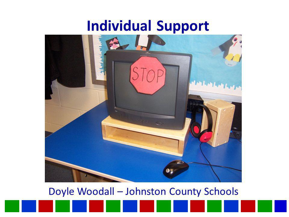 Individual Support Doyle Woodall – Johnston County Schools