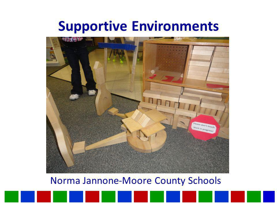 Supportive Environments Norma Jannone-Moore County Schools