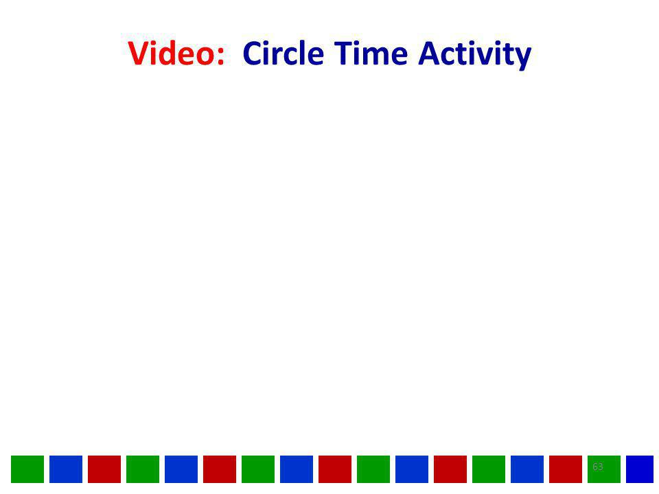 Video: Circle Time Activity 63