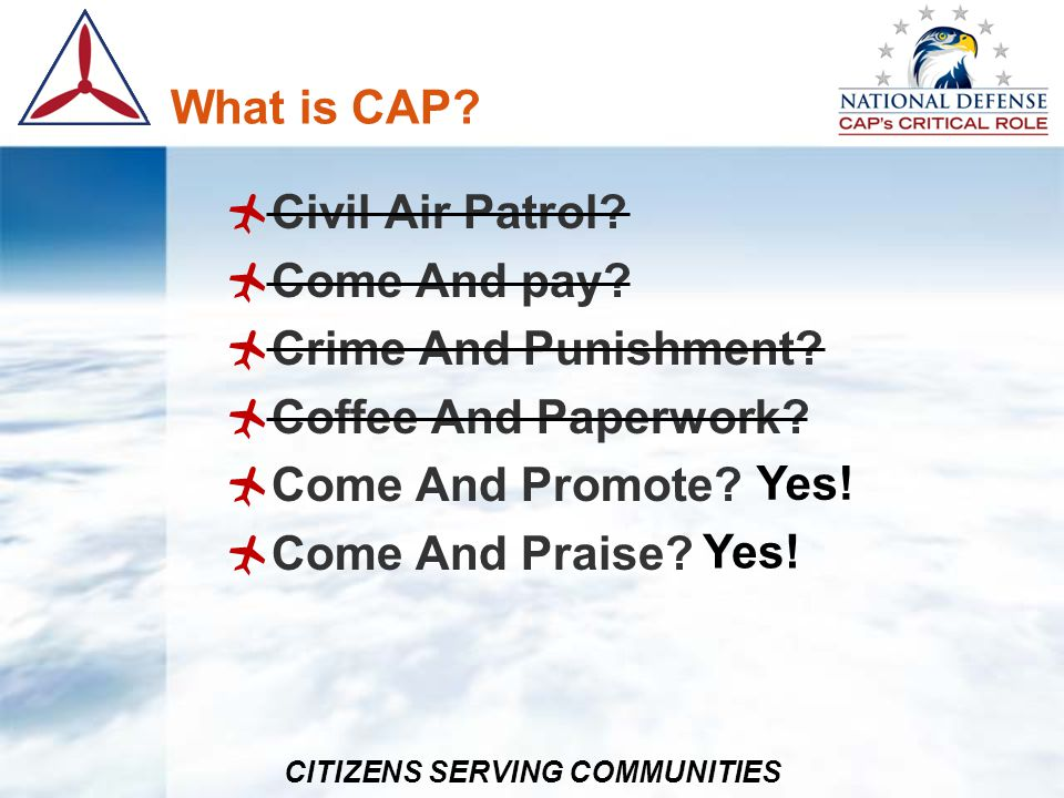 CITIZENS SERVING COMMUNITIES Awards – Content Justification Each award has a specific first and last paragraph Middle paragraph(s) Clear and concise Professional Spelling Grammar Specific
