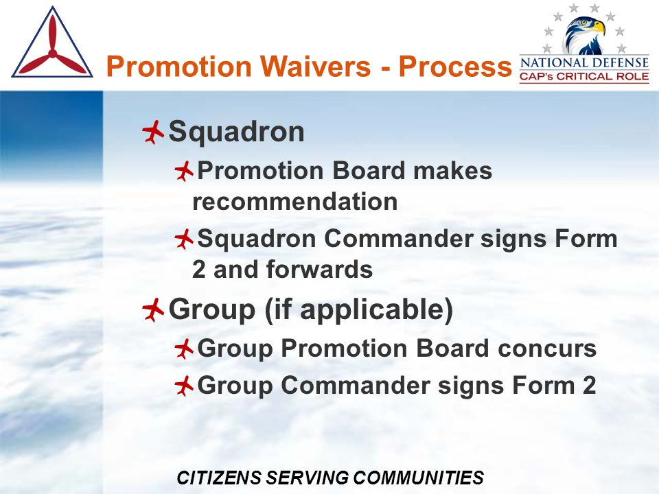 CITIZENS SERVING COMMUNITIES Awards - Process National Submitted to National Personnel & Member Actions Assistant (Currently Ms.