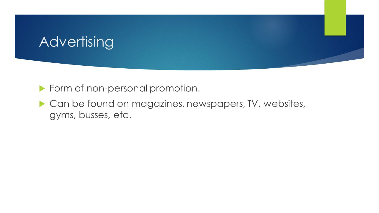 Trade Promotions - Types 1.Promotional Allowances 2.